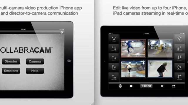 CollabraCam Updated - Now Compatible With All Of Apple's iOS Devices!