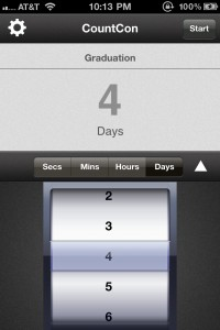 CountCon -- Countdowns on your Homescreen Icon! by TouchMiPhone screenshot