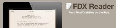 FDX Reader: An iPad App That Can Read Final Draft Files
