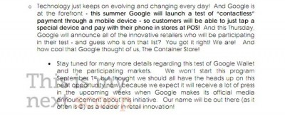 Confirmed: Google's NFC Payments Service Launching This Summer, But What About Apple?