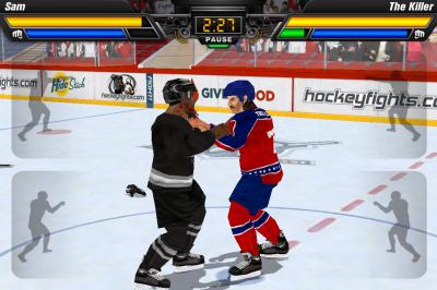 Hockey Fight Pro Takes the Hockey Out of Hockey