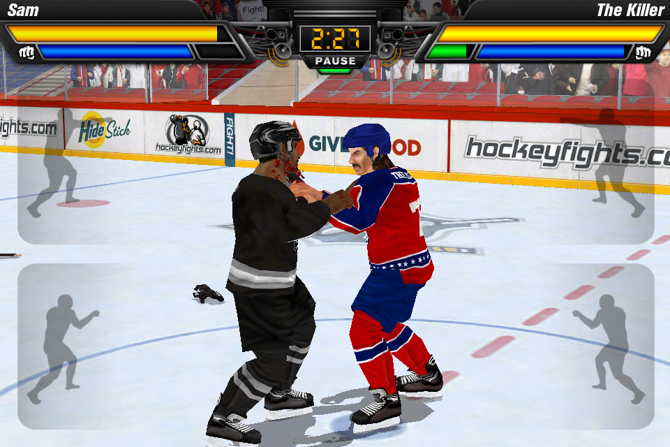 Hockey Fight Pro Takes the Hockey Out of Hockey