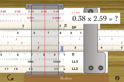 Old Meets New With Pocket Slide Rule Expert