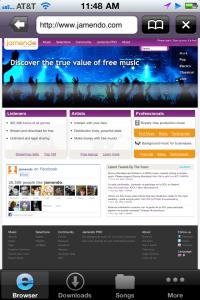 Any Music Downloader by Pdafun.net screenshot