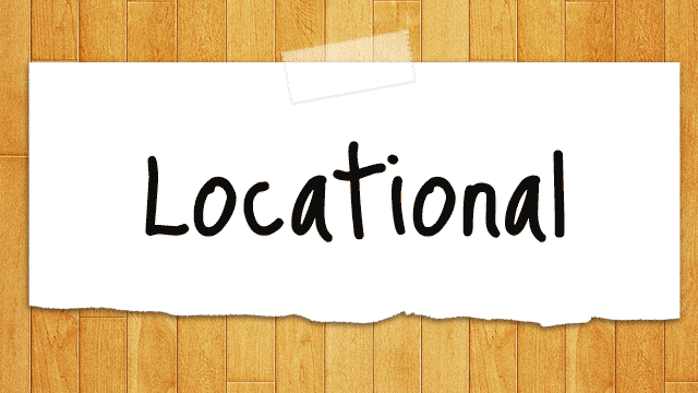 Locational Gives You All The Details