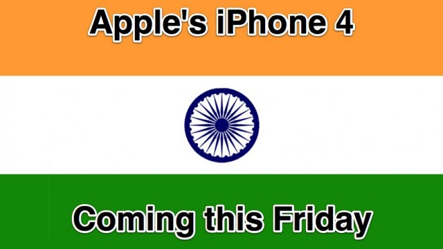 Apple's iPhone 4 Finally Coming To India - This Friday