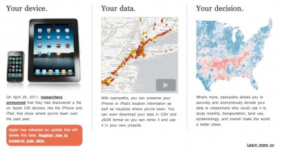 OpenPaths: Save Your Location Data In The Cloud & Donate It To Research