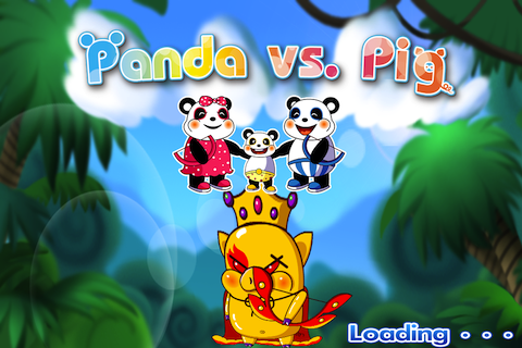 Angry Birds Meets Pocket Tanks in Panda vs. Pig