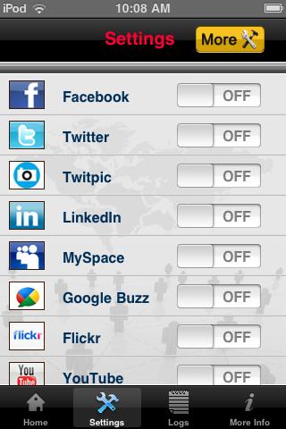 MySocialMania by Steven J. Wilson screenshot