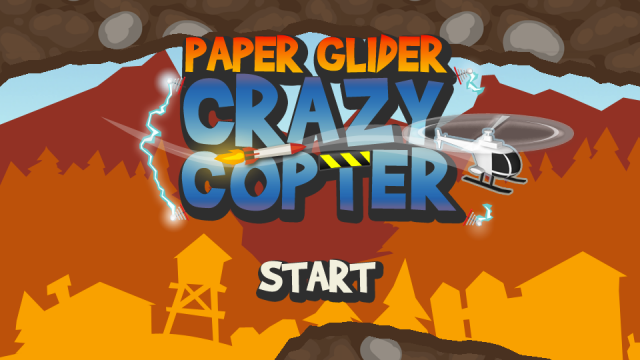 Paper Glider Crazy Copter - Crazy Free Fun On Your iPhone & iPod Touch