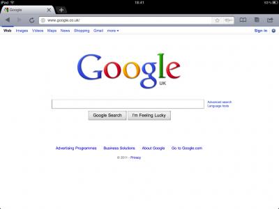 iChromy - It's Like Google Chrome On Your iPad