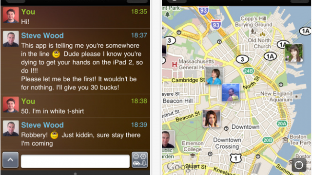 "IM+ Updated To 5.0 - Now Includes Social Networking ""Neighbors"" Feature"