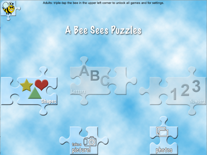 Learn Your ABCs With A Bee Sees Puzzles