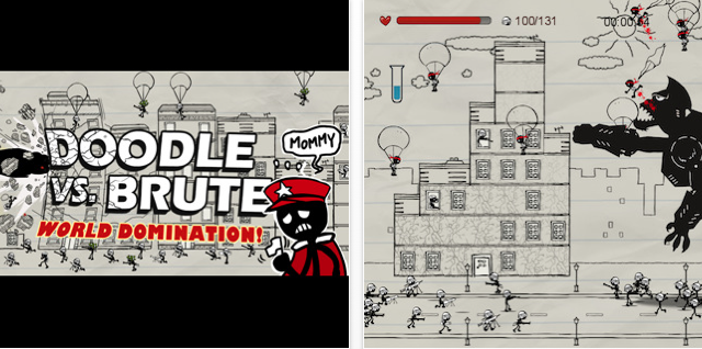 Doodle vs Brute Is Totally Worth Checking Out