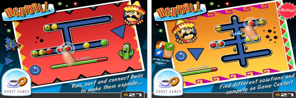 Donut Games Releases Mexiball As A Universal App