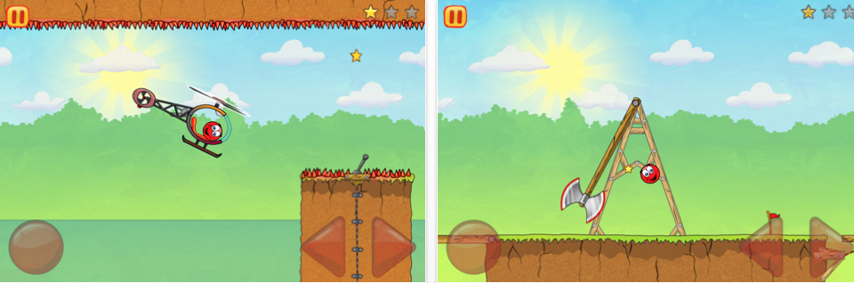 Chillingo's Red Ball 3 Hits The NZ App Store