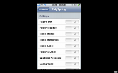 Jailbreak Only: TidySpring - Disable Features You Aren't Using & Improve Your iPhone's Performance