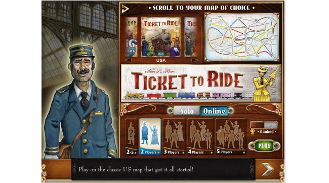 Ticket To Ride For iPad: The Popular Board Game Game Hits The iPad