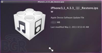 Apple Set To Release iOS 4.3.3