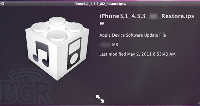 Apple Set To Release iOS 4.3.3