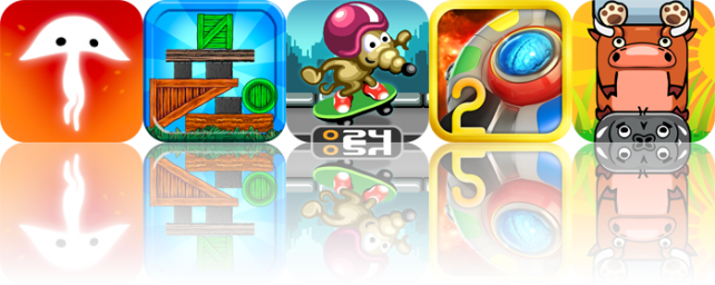 iOS Apps Gone Free: Spirits For iPad, Finger Block Deluxe, Rat On A Skateboard, And More