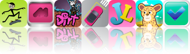 iOS Apps Gone Free: Stickman Skater, Maha, Dirt, And More