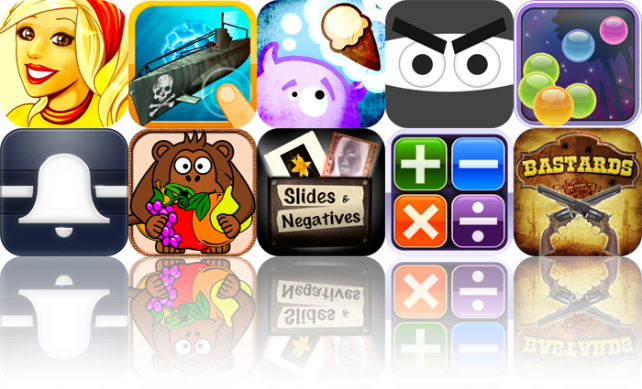 iOS Apps Gone Free: Supermarket Mania HD, Pirate Subs!!!, Hungry MonstR, And More