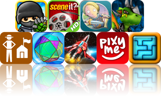 iOS Apps Gone Free: Fragger, Scene It? Movies 2 HD, Sir Charlie Stinky Socks, And More