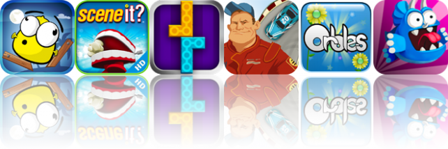iOS Apps Gone Free: Smoody, Scene It? Comedy Movies, Bricks Tower, And More
