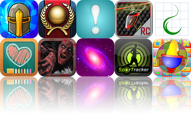 iOS Apps Gone Free: Legendary Wars, Ramp Champ, Next!, And More