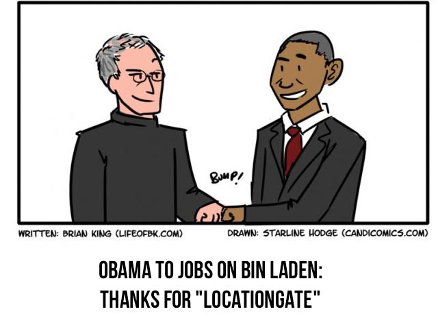 Humor: Thank Steve Jobs For Bin Laden's Capture