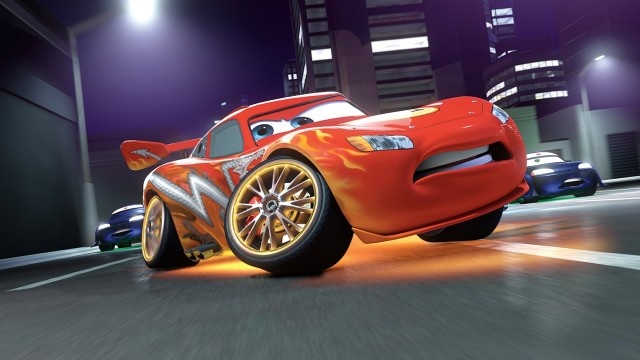 Lightning McQueen Came To Life On An iPad 2
