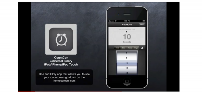 First Look: An App That Countdowns On Your Homescreen (Video)