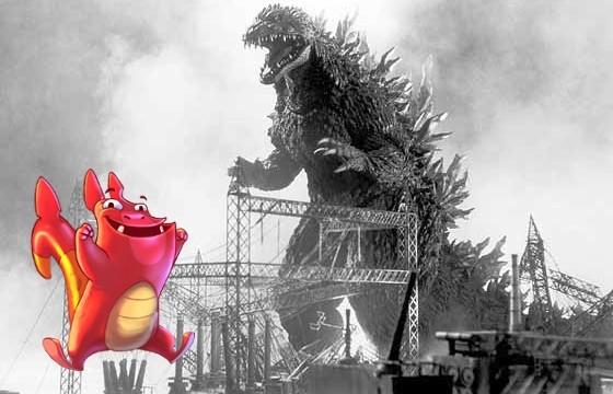 "Zilla The Monster Runs Amok In Beautiful, Destructive ""Demolition Dash"""