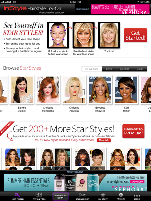 InStyle Hairstyle Try-On Will Help Women Find The Best Personal Cut And Color