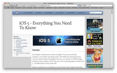 iOS 5: Every Rumor Exposed & Analyzed - The AppAdvice Roundup