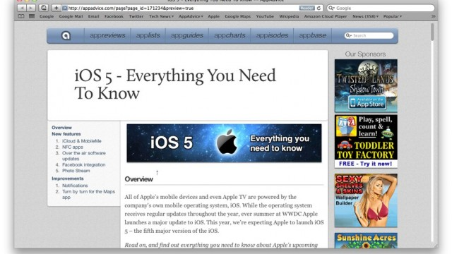 iOS 5: Every Rumor Exposed & Analyzed - The AppAdvice Roundup