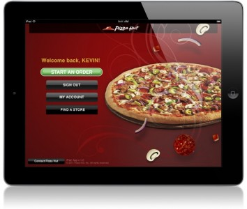 Pizza Hut HD App Arrives For iPad