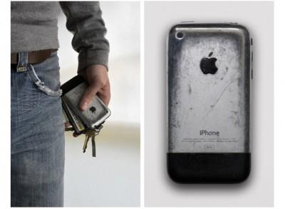 This Battle Scarred iPhone Actually Looks Beautiful, In Its Own Unique Way