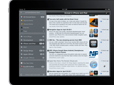 Mr. Reader Challenges Reeder App With Huge Update