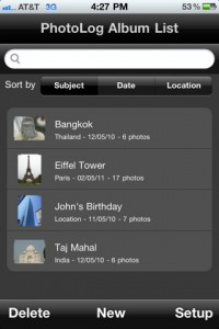 Manage, Post & Upload Photos To The Social Web With PhotoLog