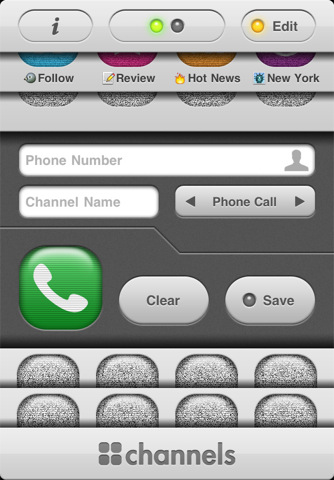 Channels for iPhone