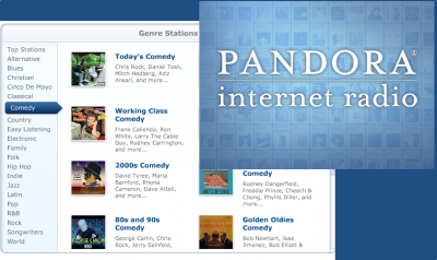 Now That Is Funny: Pandora Radio Adds Comedy To Its Lineup