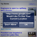 Google News Now Offers Local News For iPhone Customers