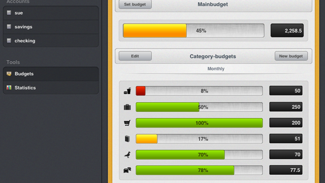 Creatively Manage Your Finances With BudgetBook
