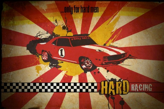 """""""Hard Racing"""" Is Hard Racing, Developed By Single Coder In Spare Time"""