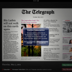 The Telegraph And Apple Come To Terms For iPad Subscriptions