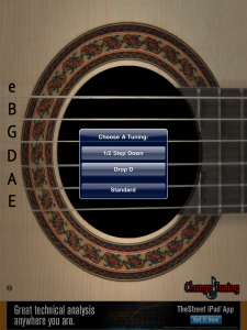 tune your acoustic guitar with your ipad. Black Bedroom Furniture Sets. Home Design Ideas