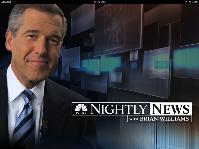 NBC Nightly News Launches iPad App