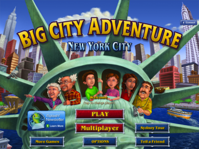 Big City Adventure: New York City Is A Wonderful Hidden Object And Mini Puzzle Game
